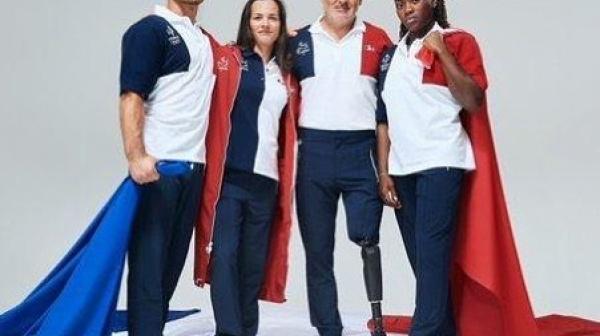 Sandrine Porte-Drapeaux  aux Jeux Paralympiques !!!